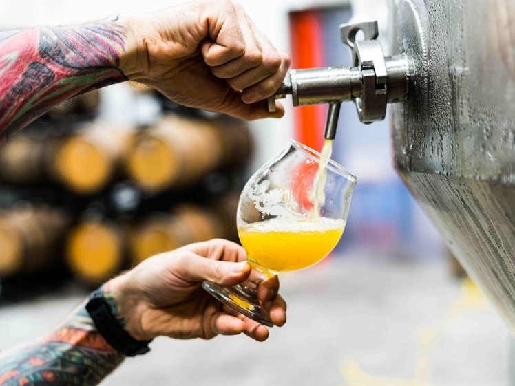 Visit some breweries in Amsterdam on a rainy day