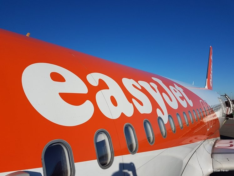 Easy Jet aircraft