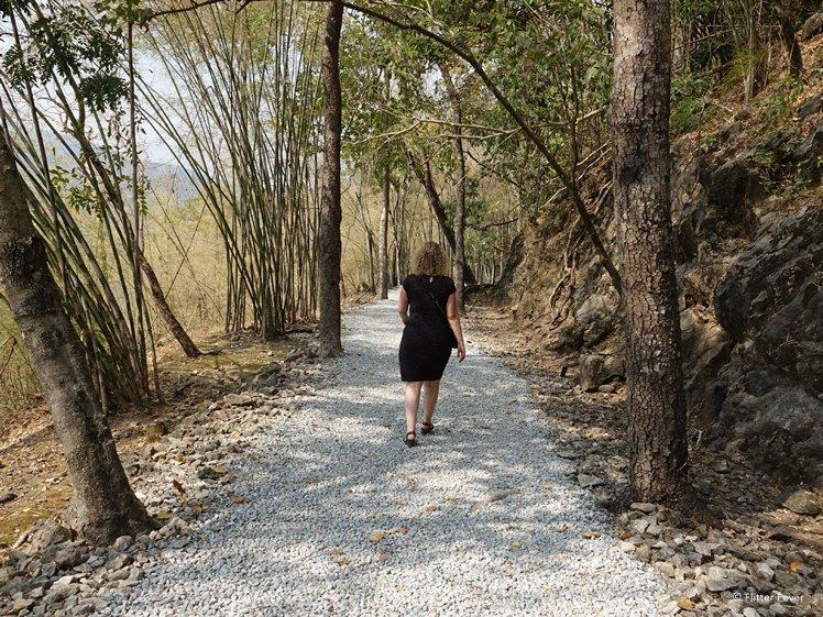 Hellfire Pass walking trail Kanchanaburi Thailand