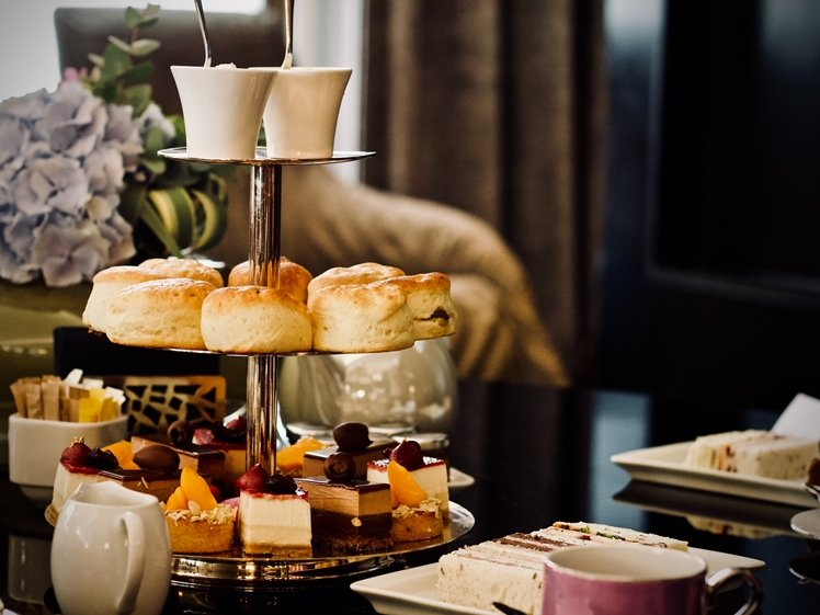 Treat yourself and a friend well with a high tea at a posh hotel in Amsterdam when it rains