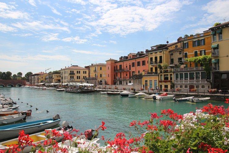 Elizabeth loves spending holidays in Italy