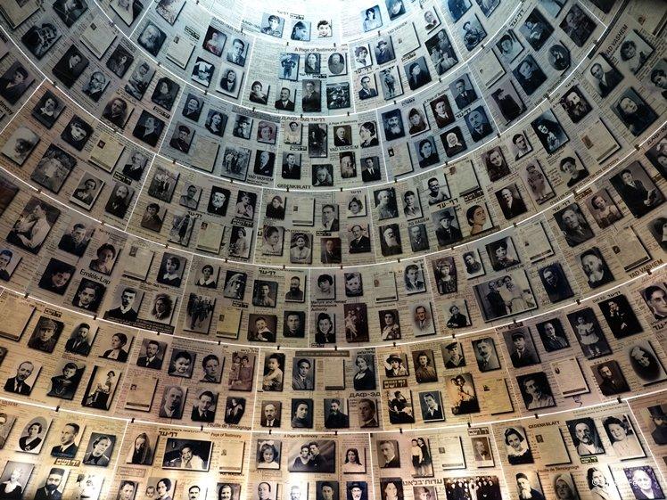 The Hall of Names Yad Vashem Jerusalem World Holocaust Remembrance Center