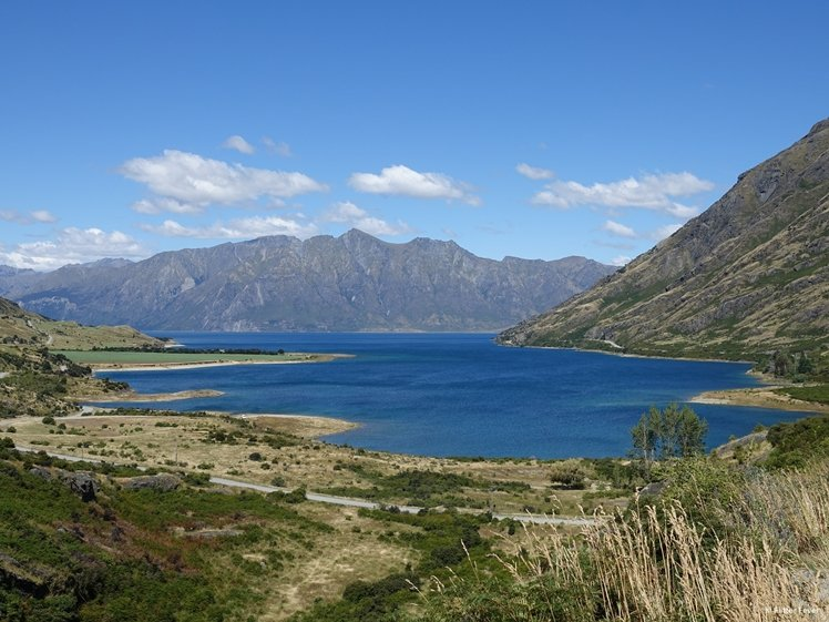 Lake at Wanaka, New Zeeland