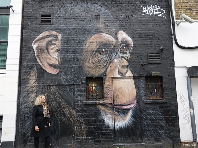 Cool street art in Londen
