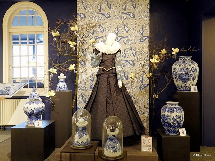 Exhibition and shop in one at Royal Delft