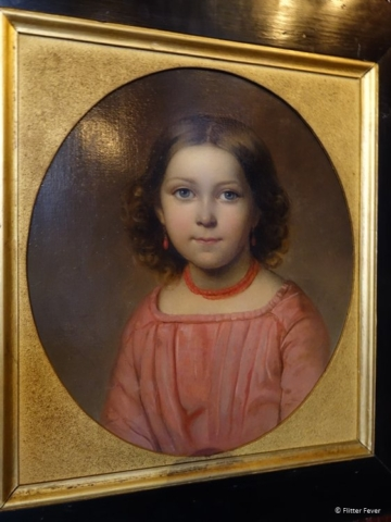 Marietje the niece of Paul Tetar van Erven (1850)