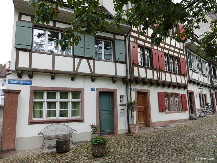 More cute houses at Spalengraben Basel