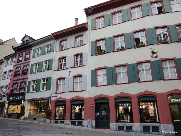 Shops at Spalenberg are closed on Sunday Basel