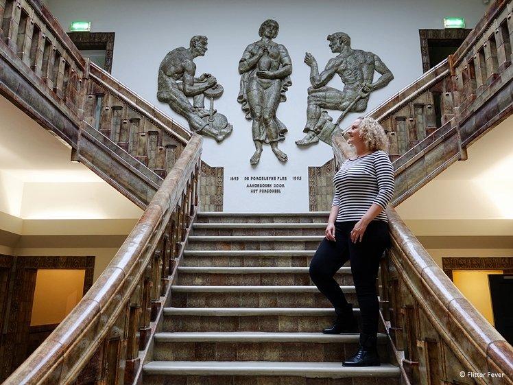 Stairs at De Koninklijke Porceleyne Fles - Royal Delft