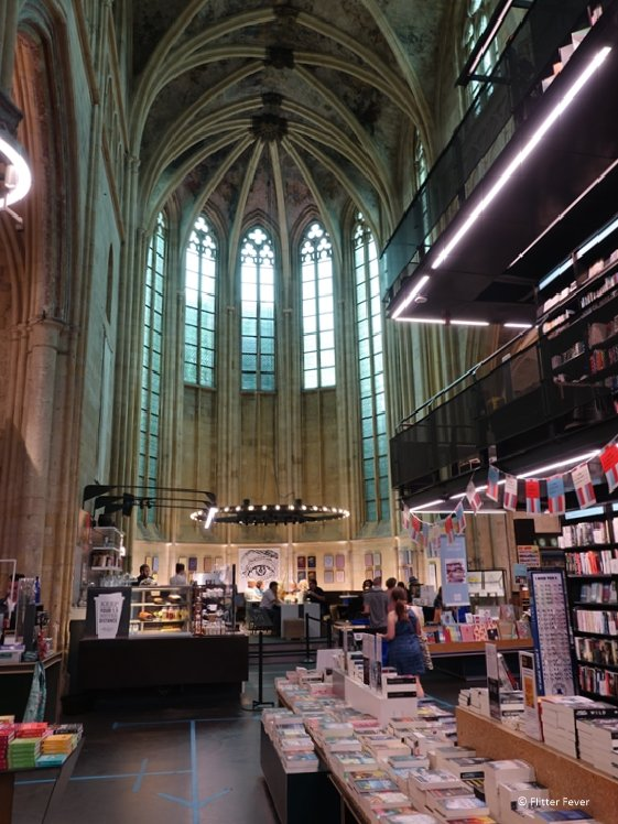 Book store Dominicanen in maastricht