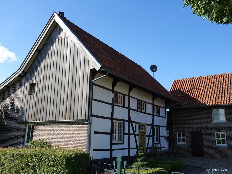 Half-timbered house in South Limburg