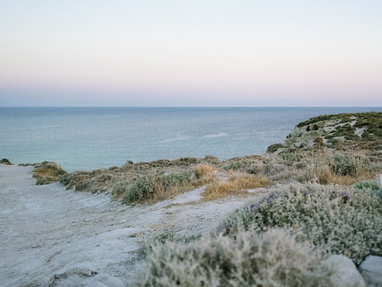 Delikli Koy beach near Alacati