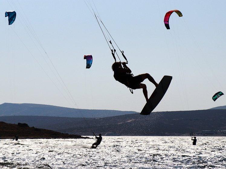 Kitesurfing in Alacati