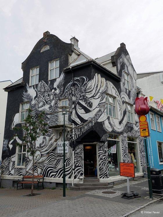 Ode to Mother street art Mjuk Reykjavik
