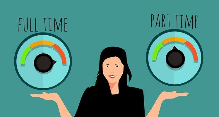 Parttime vs Fulltime