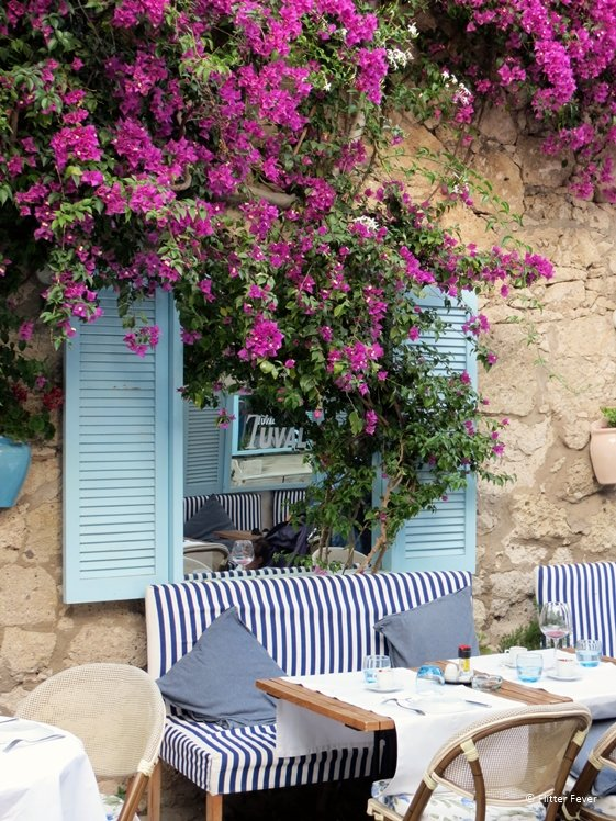 Tuval, a cute restaurant in Alacati Turkey