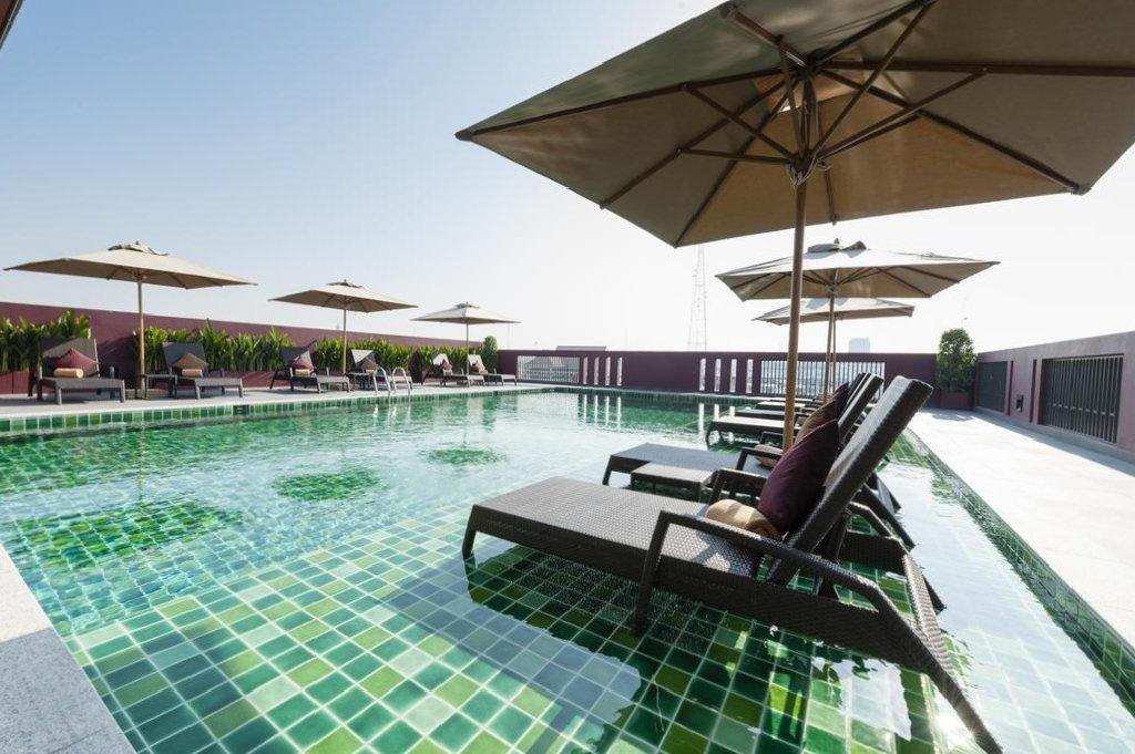 Casa Nithra Bangkok hotel rooftop pool