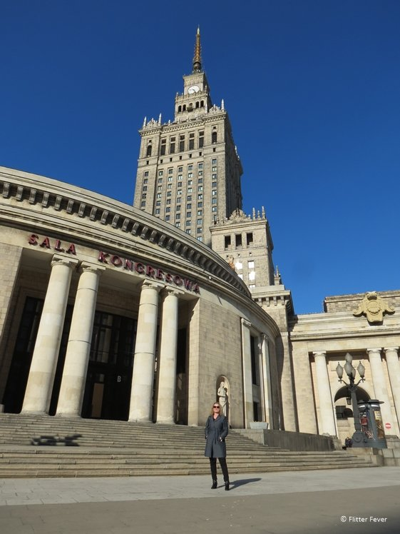 Congress Hall and Palace of Culture and Science Warsaw