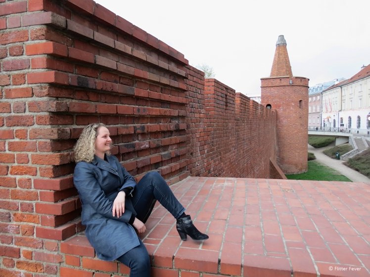 Defensive Walls at the Barbican in Warsaw