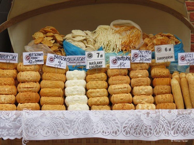 Local cookies for sale in Zakopane