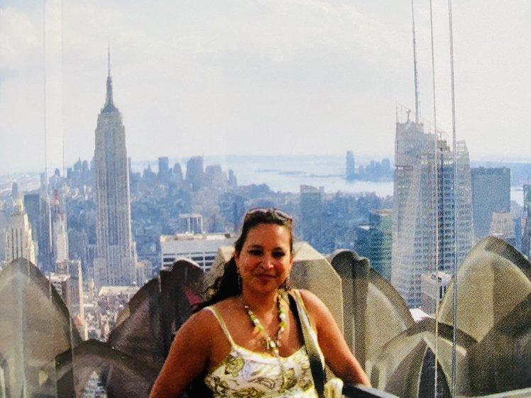 Prachtig uitzicht vanaf de Empire State Building NYC