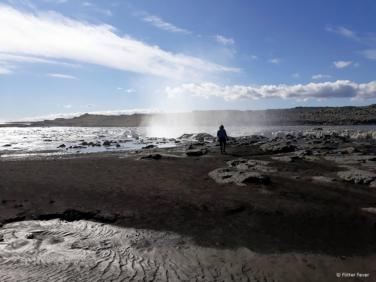 Selfoss desolate landscape Iceland
