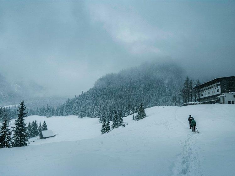 Zakopane is a popular ski resort in winter
