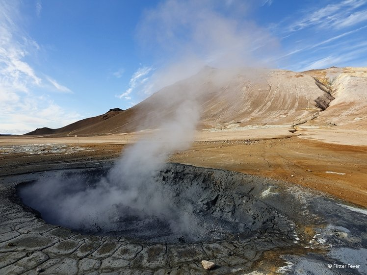 Boiling mud pool at Hverir - Namafjall