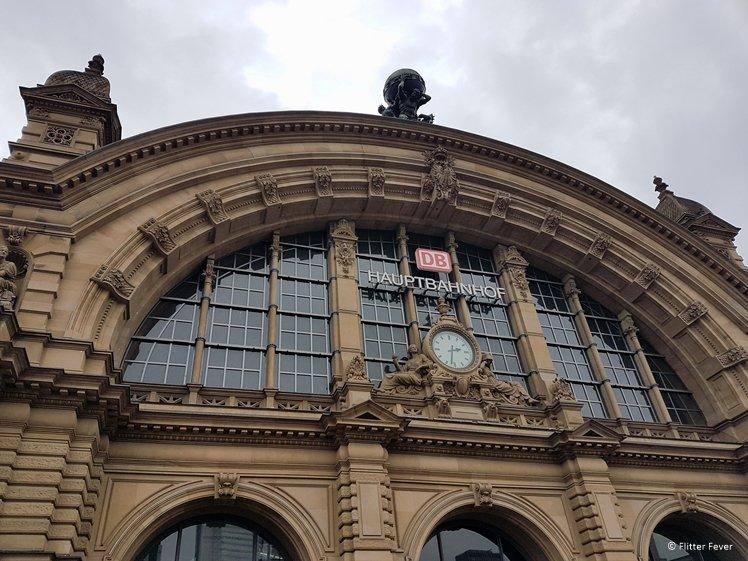 Frankfurt's Central Station area does not impress