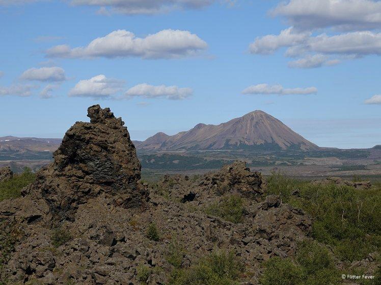 Mt. Namafjall seen from Dimmuborgir