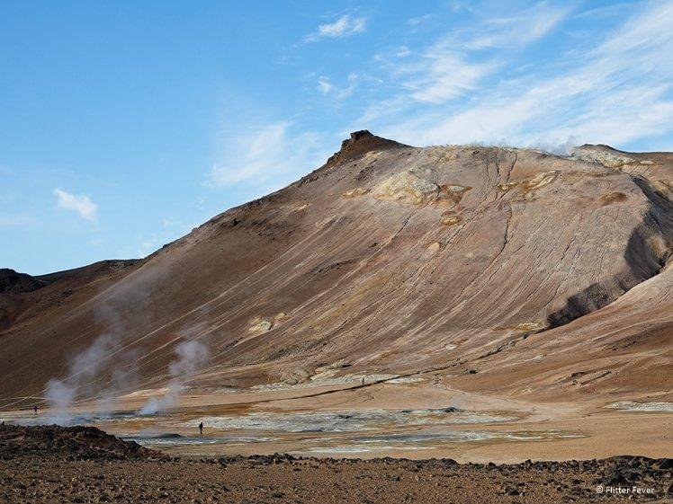 Namafjall Mountain