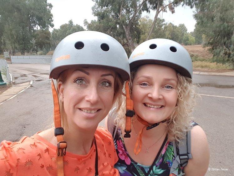 Be smart, wear a helmet when riding an e-steps or e-bike