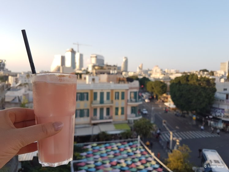 Cheers to Tel Aviv - Poli House roof top bar