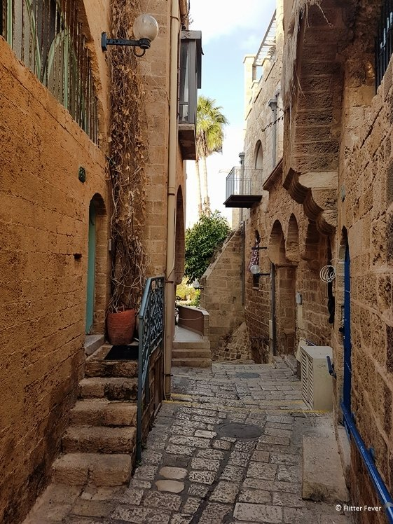 Cozy alley in Old Jaffa