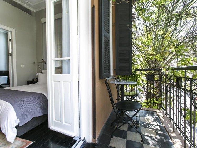 Hotel Montefiore classy room with balcony