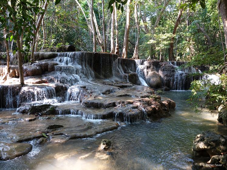 Huay Mae Khamin Waterfall Nature Trail
