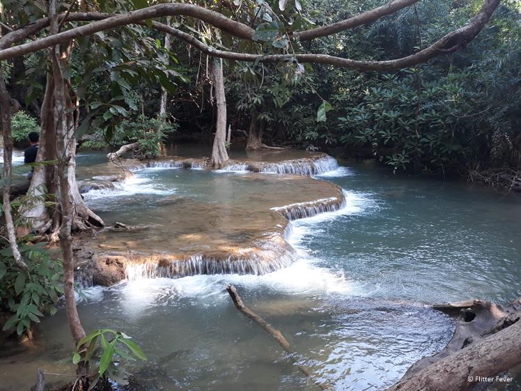 Jungle feeling and crystal clear water at Huay Mae Khamin