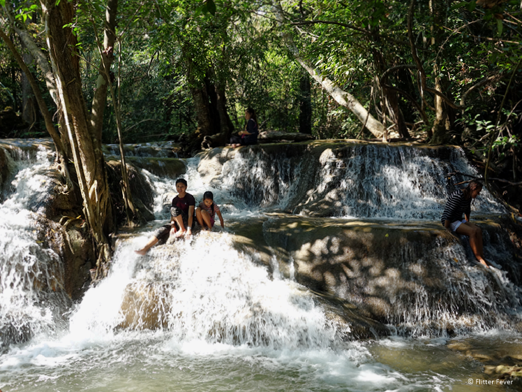 Rom Klao or Romkaev waterfall at level 7