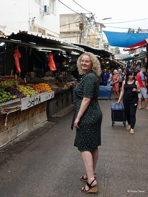 Strolling the markets in Tel Aviv