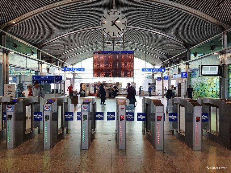 Tel Aviv Ha'Hagana train station