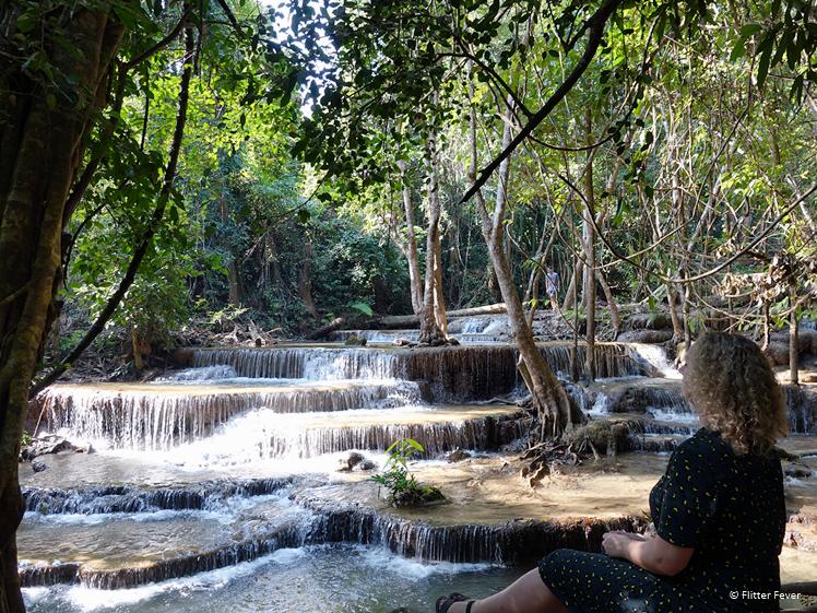 The magic of Huay Mae Khamin Waterfall