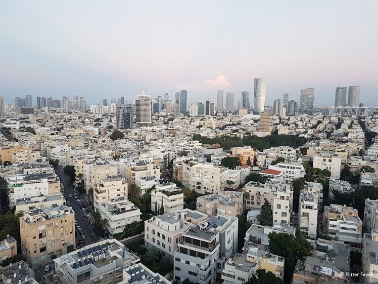 White City Tel Aviv seen from Brown TLV Urban Hotel