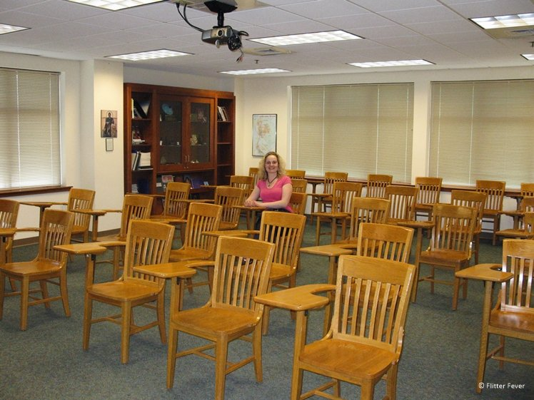 Classroom at Edgewood College Madison