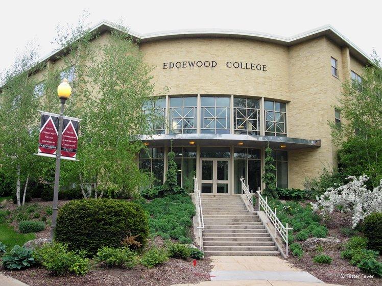 Edgewood College main entrance Madison