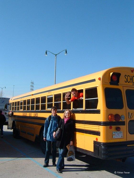 Milwaukee trip by school bus