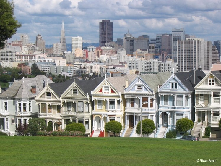 The Painted Ladies San Francisco USA