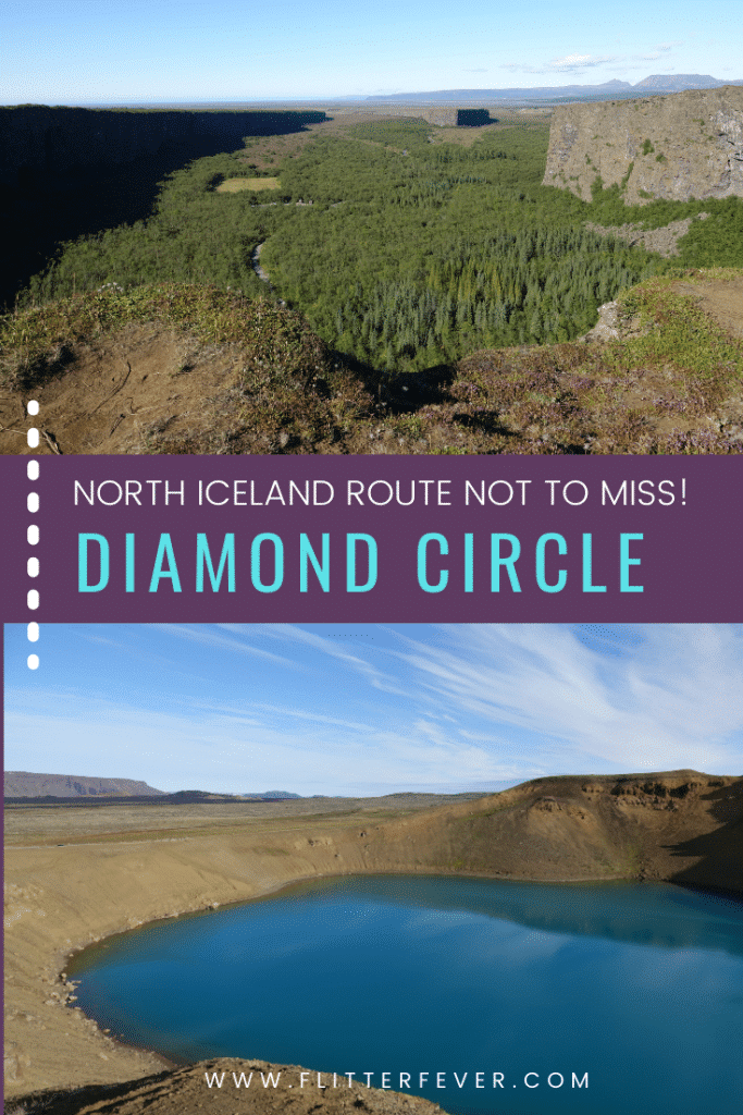 Diamond Circle Pinterest Asbyrgi and Viti Crater