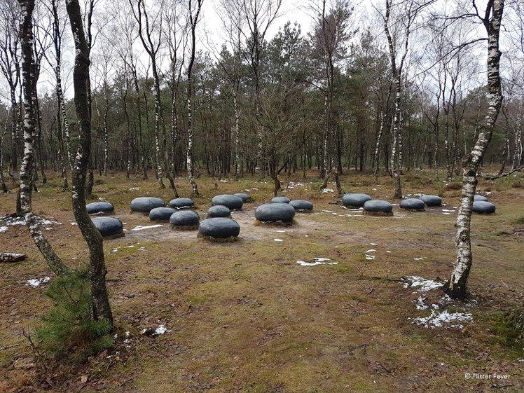 Mysterious stones near Planken Wambuis