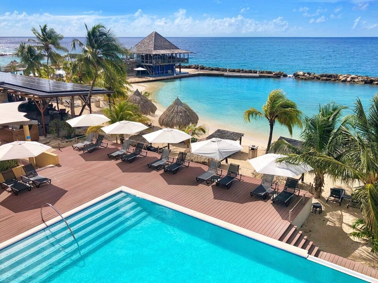 Avila Beach Hotel Curacao hotels Curacao beach pool