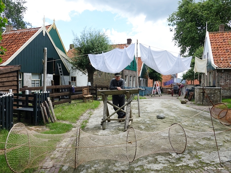 Experience a fishing village in the 19th century